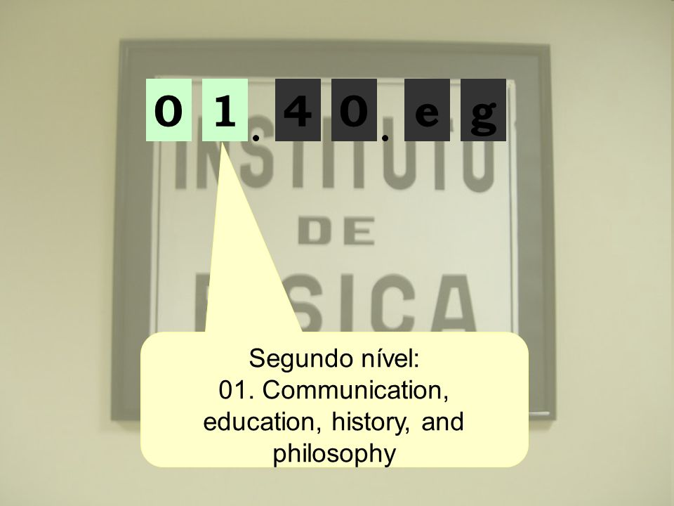 01. Communication, education, history, and philosophy