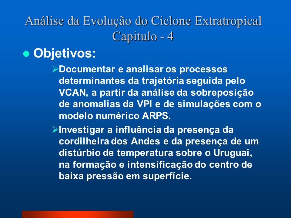 Análise da Evolução do Ciclone Extratropical Capitulo - 4