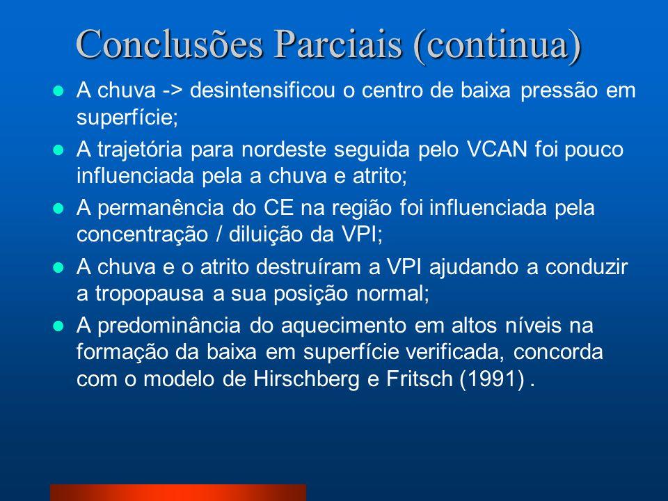 Conclusões Parciais (continua)