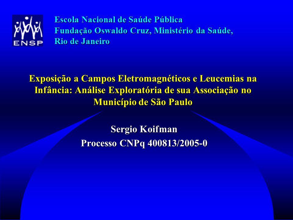 Sergio Koifman Processo CNPq 400813/2005-0
