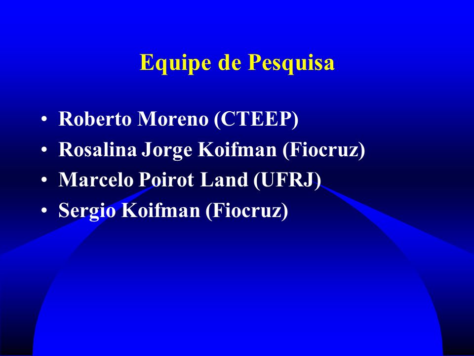 Equipe de Pesquisa Roberto Moreno (CTEEP)