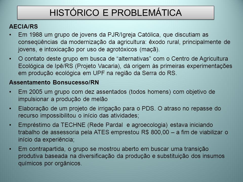 HISTÓRICO E PROBLEMÁTICA