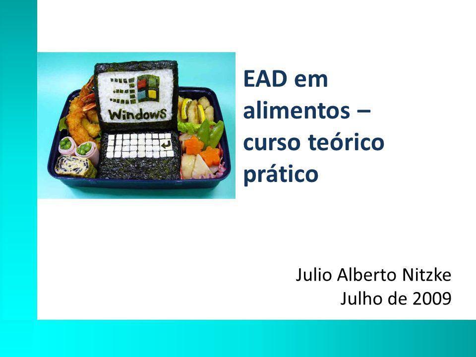 EAD em alimentos – curso teórico prático