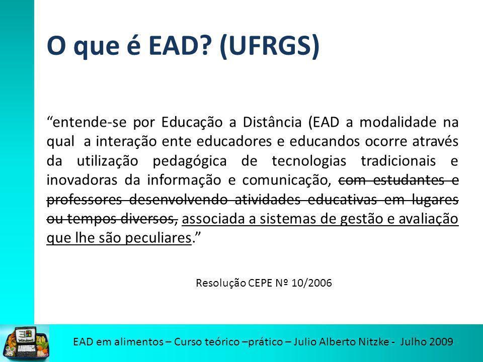 O que é EAD (UFRGS)