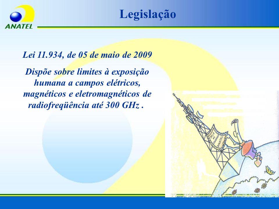 Legislação Lei 11.934, de 05 de maio de 2009