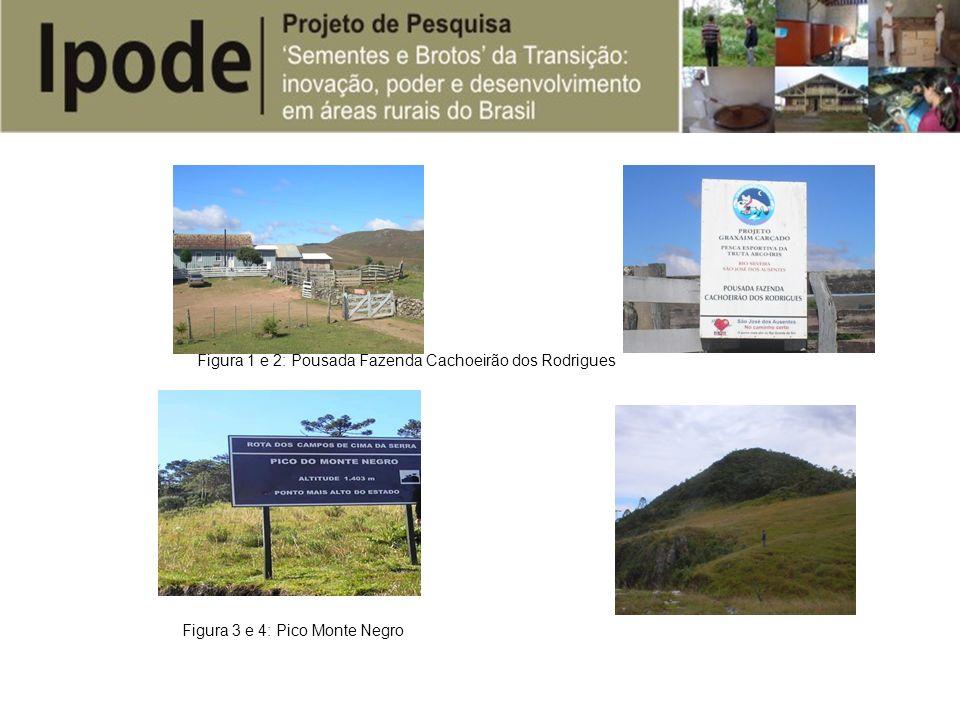 Figura 1 e 2: Pousada Fazenda Cachoeirão dos Rodrigues