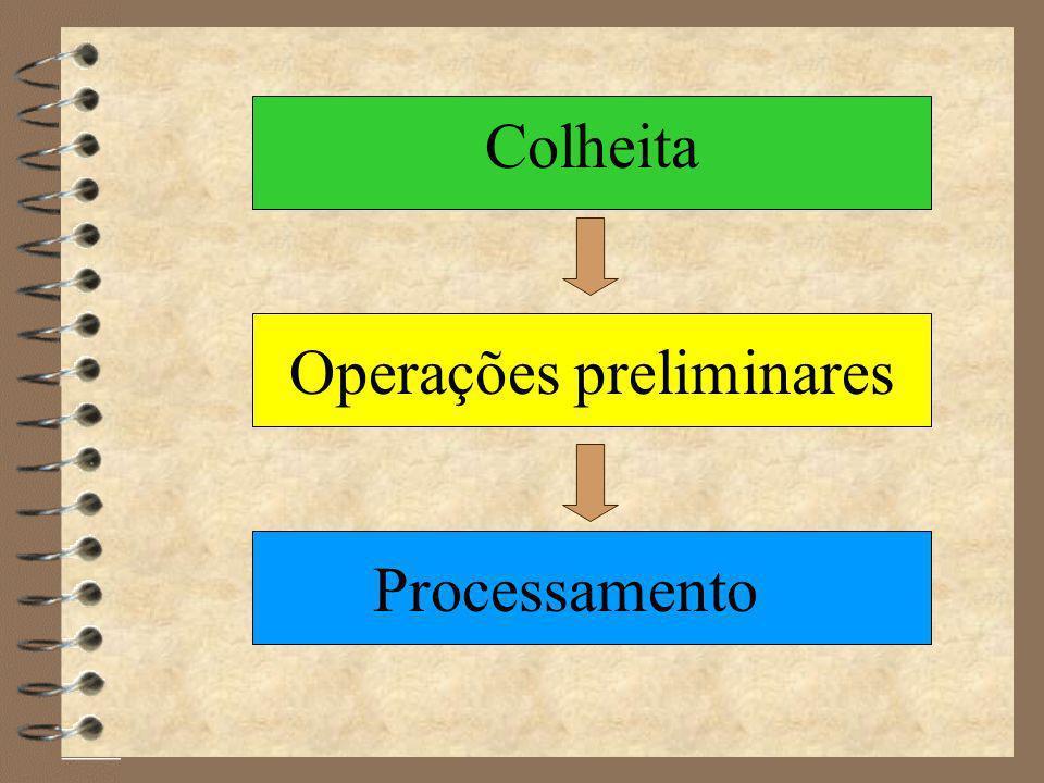 Operações preliminares