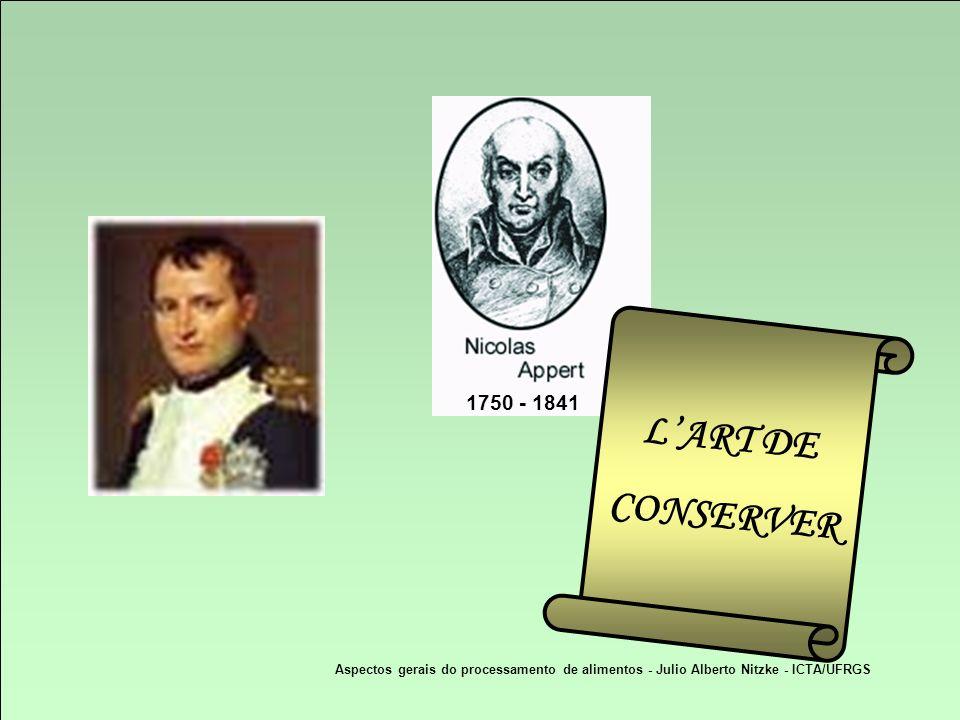 1750 - 1841 L'ART DE. CONSERVER.