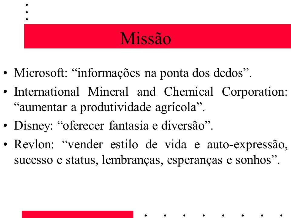 Missão Microsoft: informações na ponta dos dedos .
