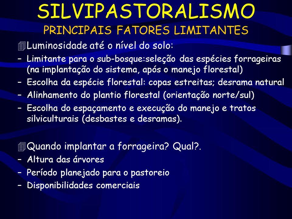 PRINCIPAIS FATORES LIMITANTES