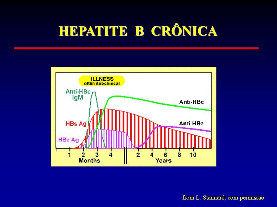 HEPATITE B CRÔNICA from L. Stannard, com permissão