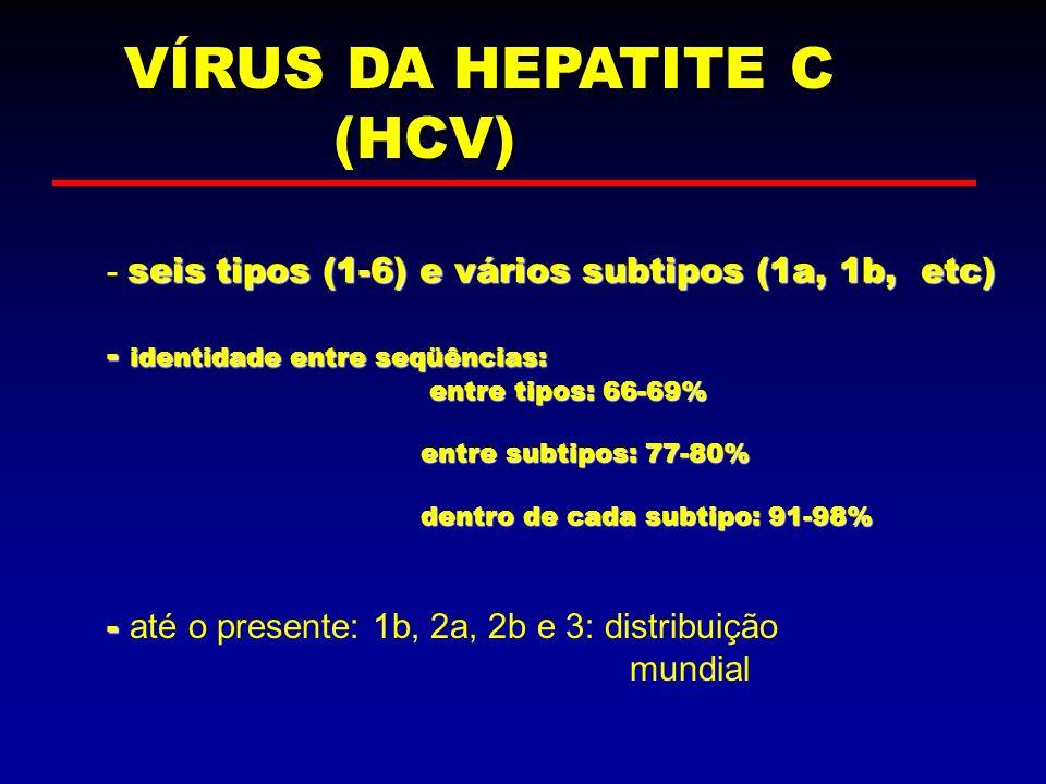 VÍRUS DA HEPATITE C (HCV)