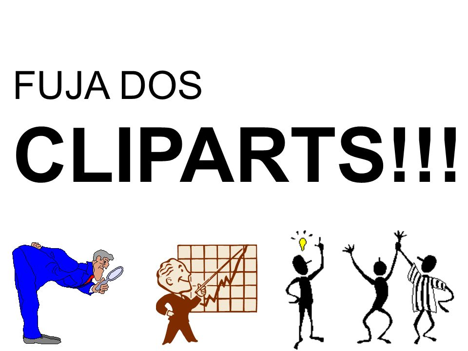FUJA DOS CLIPARTS!!!