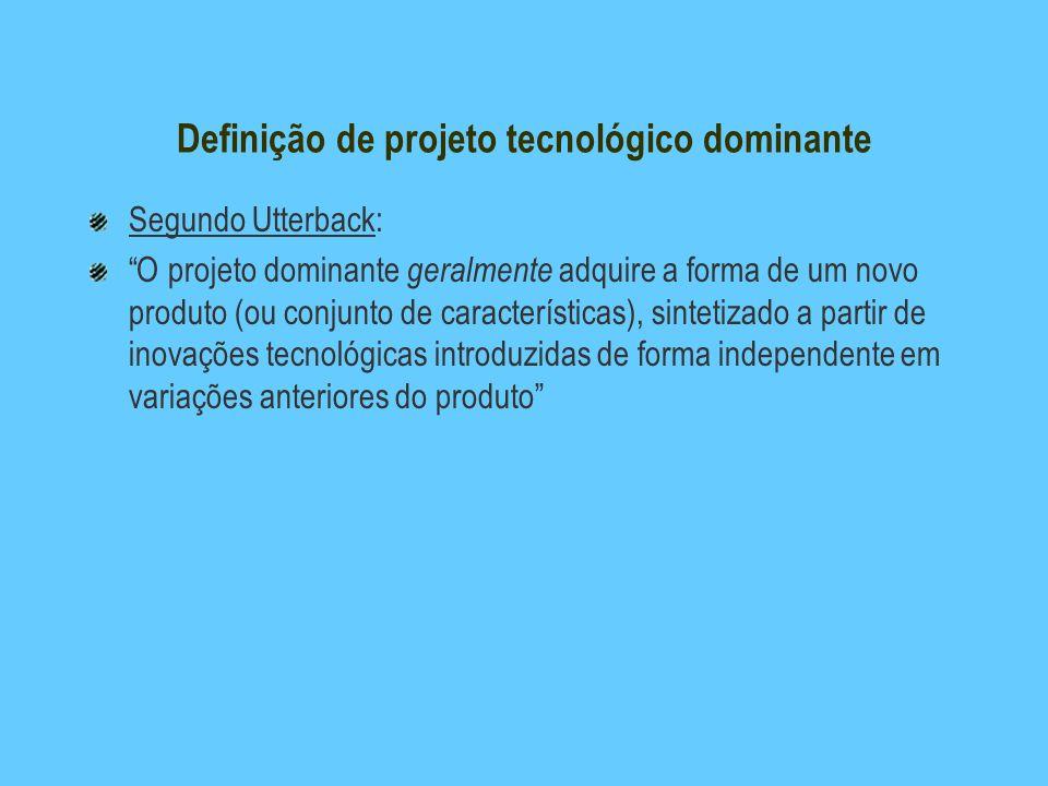 Definição de projeto tecnológico dominante