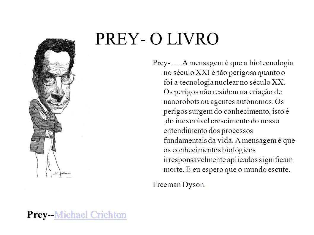 PREY- O LIVRO Prey--Michael Crichton