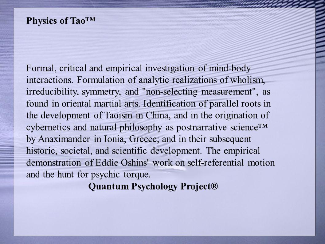 Quantum Psychology Project®