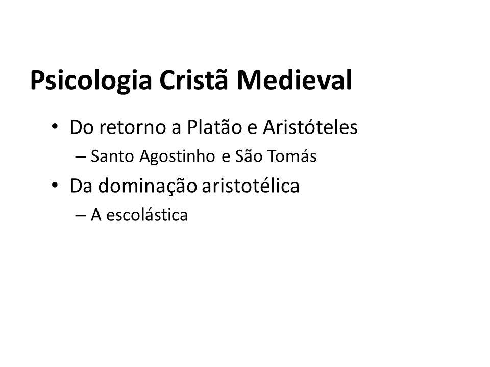 Psicologia Cristã Medieval