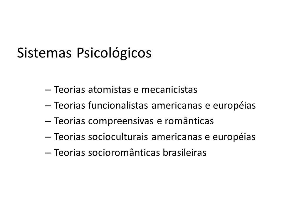 Sistemas Psicológicos