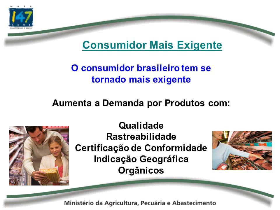 Consumidor Mais Exigente