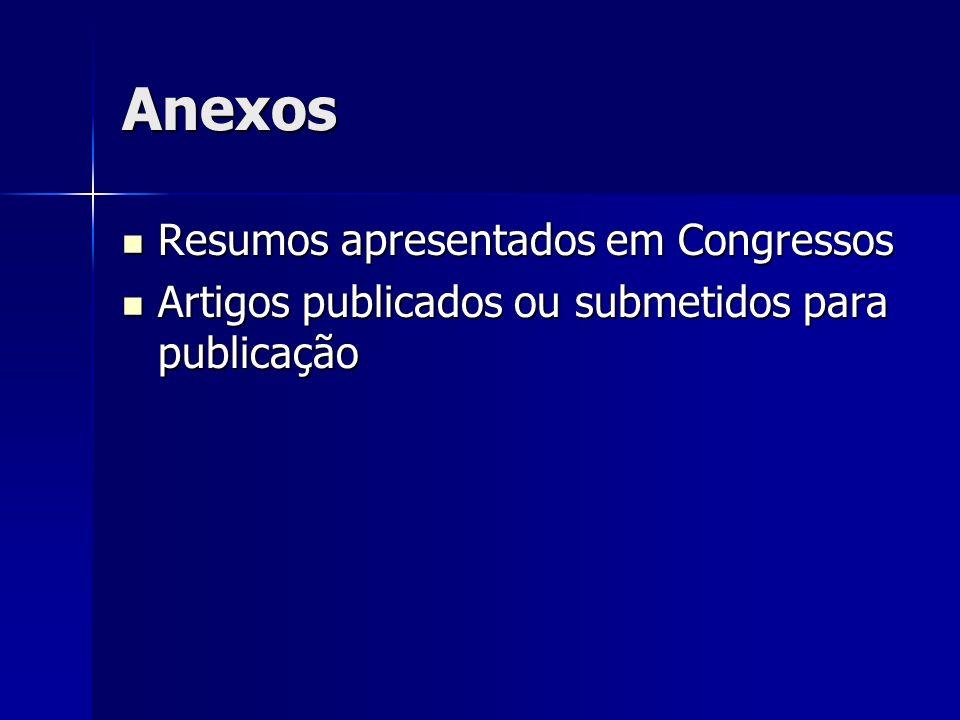 Anexos Resumos apresentados em Congressos