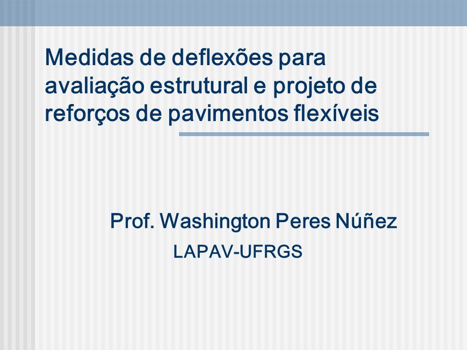 Prof. Washington Peres Núñez LAPAV-UFRGS