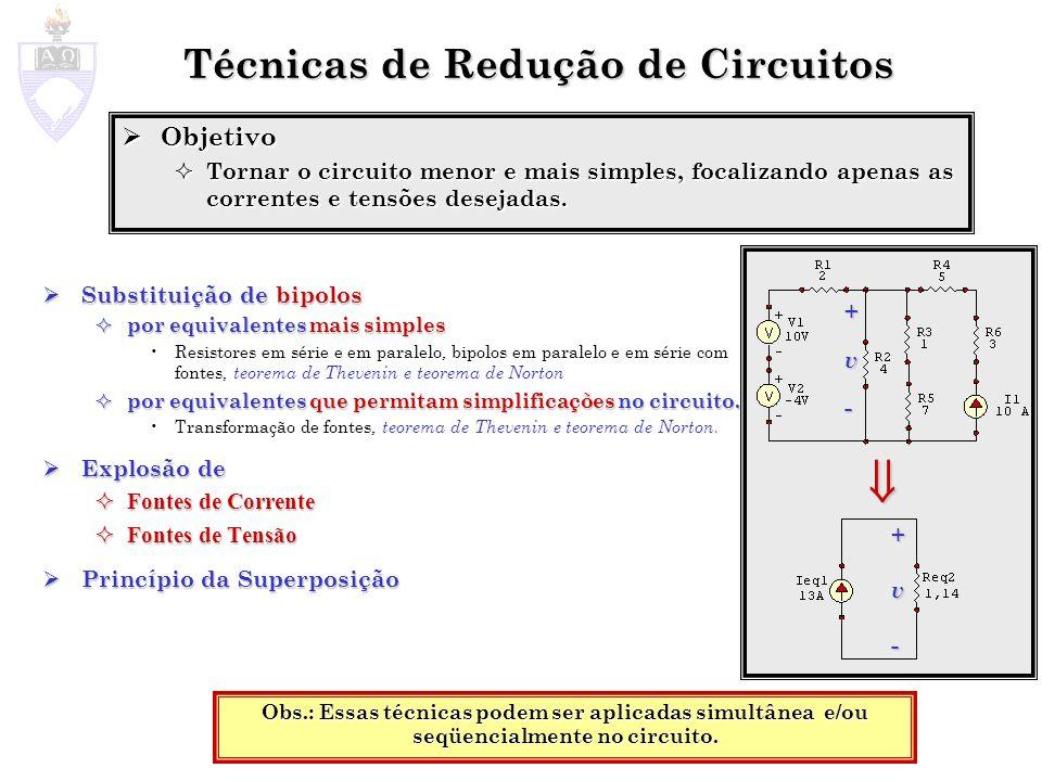 Técnicas de Redução de Circuitos