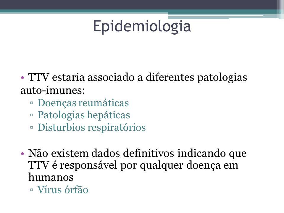 Epidemiologia TTV estaria associado a diferentes patologias