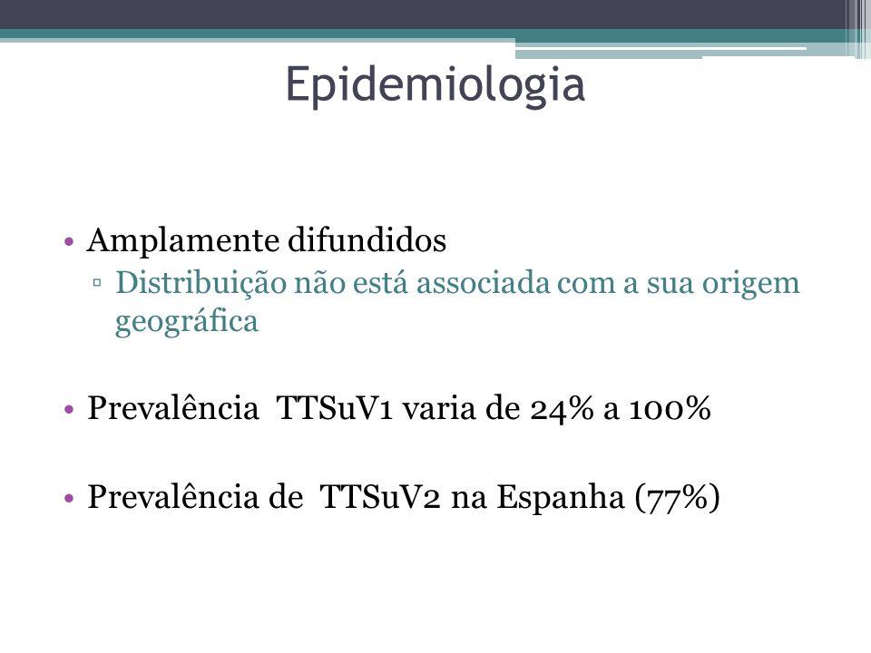 Epidemiologia Amplamente difundidos