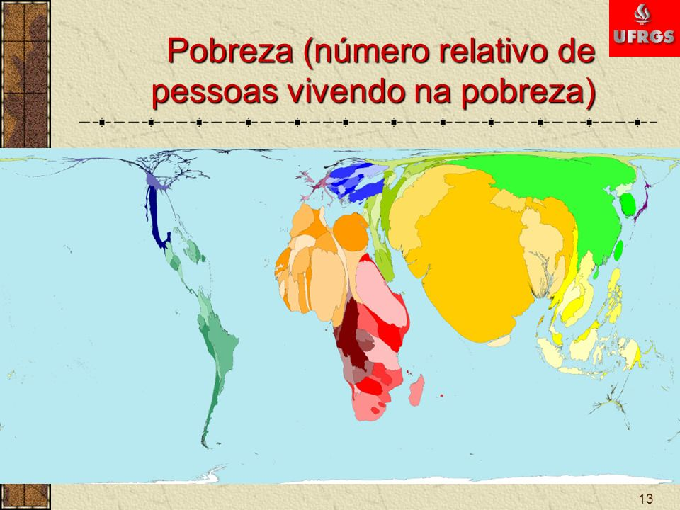 Pobreza (número relativo de pessoas vivendo na pobreza)