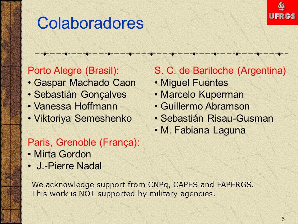 Colaboradores Porto Alegre (Brasil): Gaspar Machado Caon