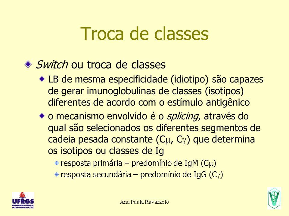 Troca de classes Switch ou troca de classes
