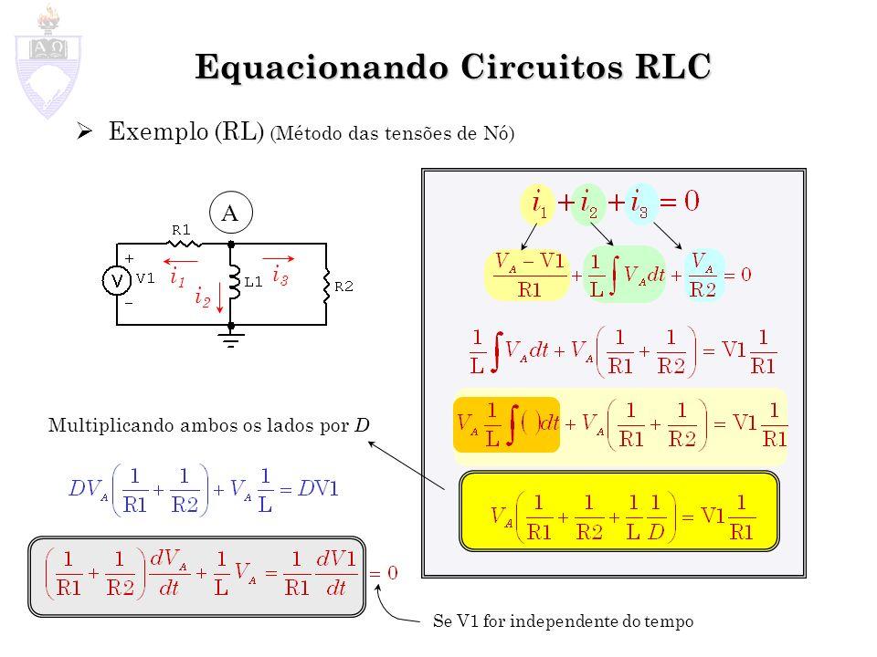 Equacionando Circuitos RLC