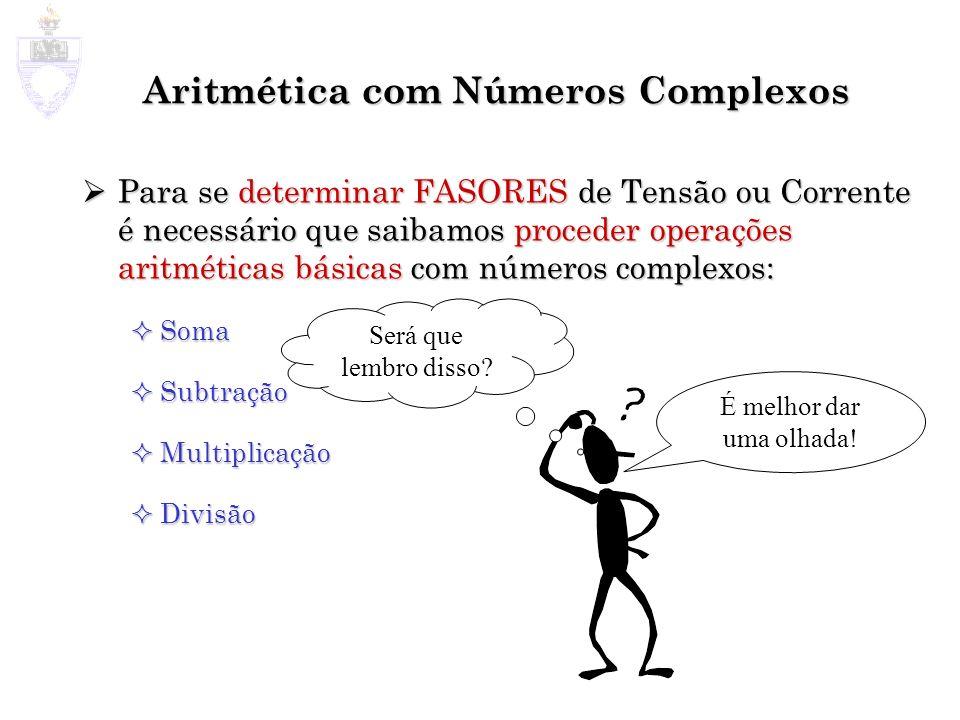 Aritmética com Números Complexos