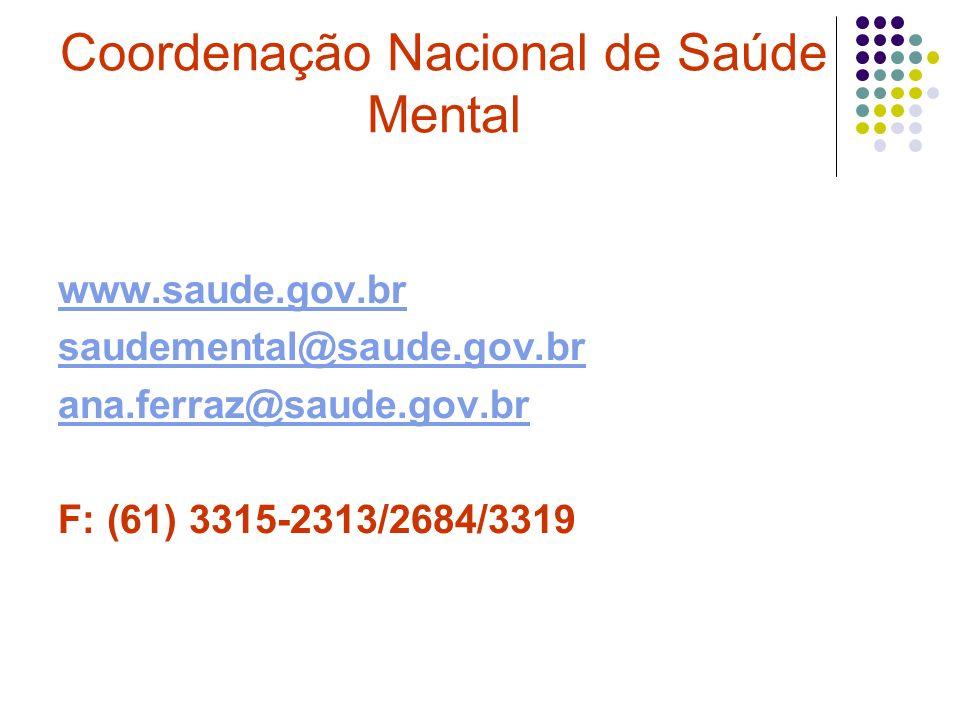 Coordenação Nacional de Saúde Mental