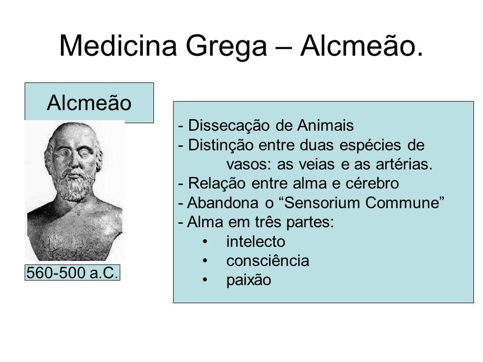 Medicina Grega – Alcmeão.