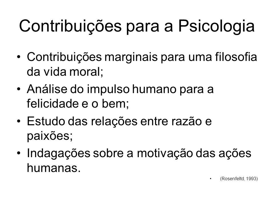 Contribuições para a Psicologia