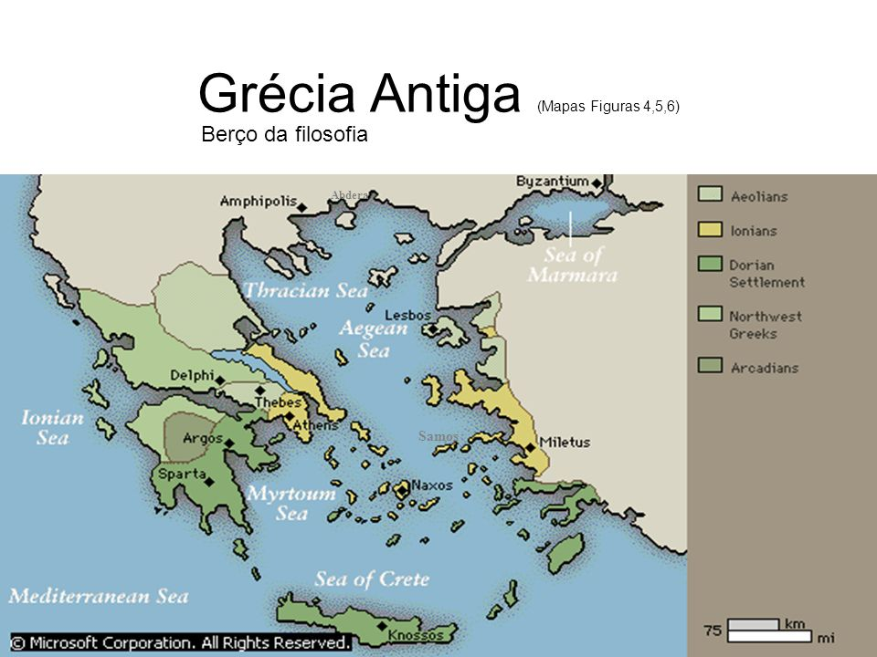 Grécia Antiga (Mapas Figuras 4,5,6)
