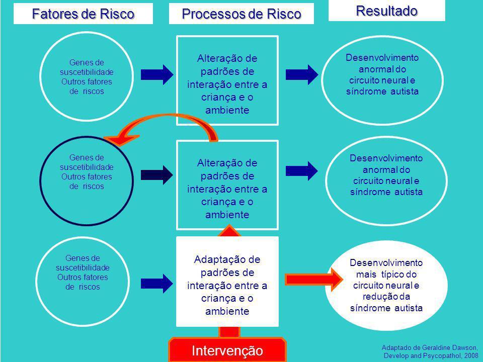 Fatores de Risco Processos de Risco Resultado Intervenção