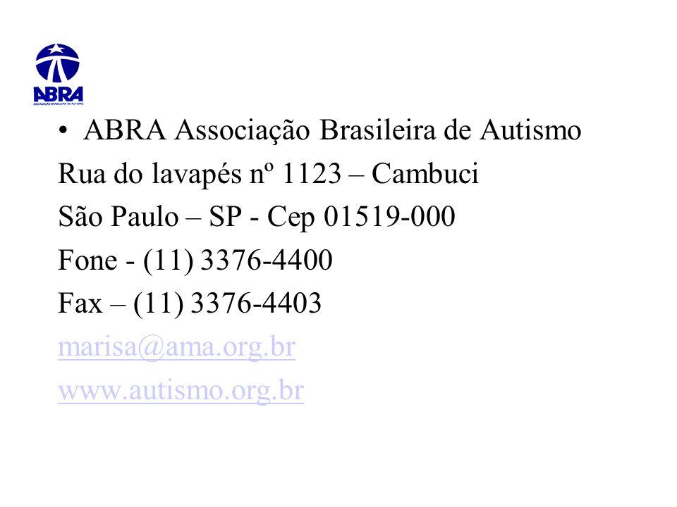 ABRA Associação Brasileira de Autismo