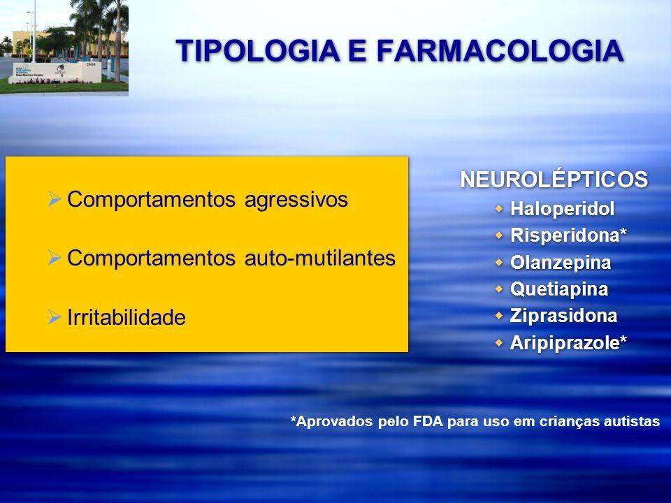 TIPOLOGIA E FARMACOLOGIA