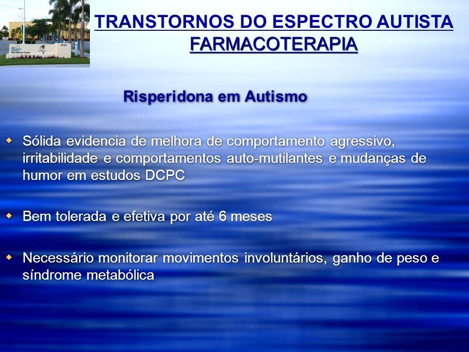 Risperidona em Autismo