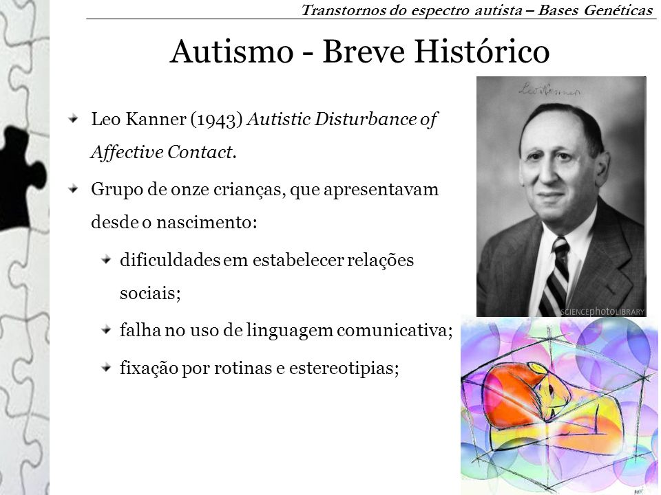 Autismo - Breve Histórico