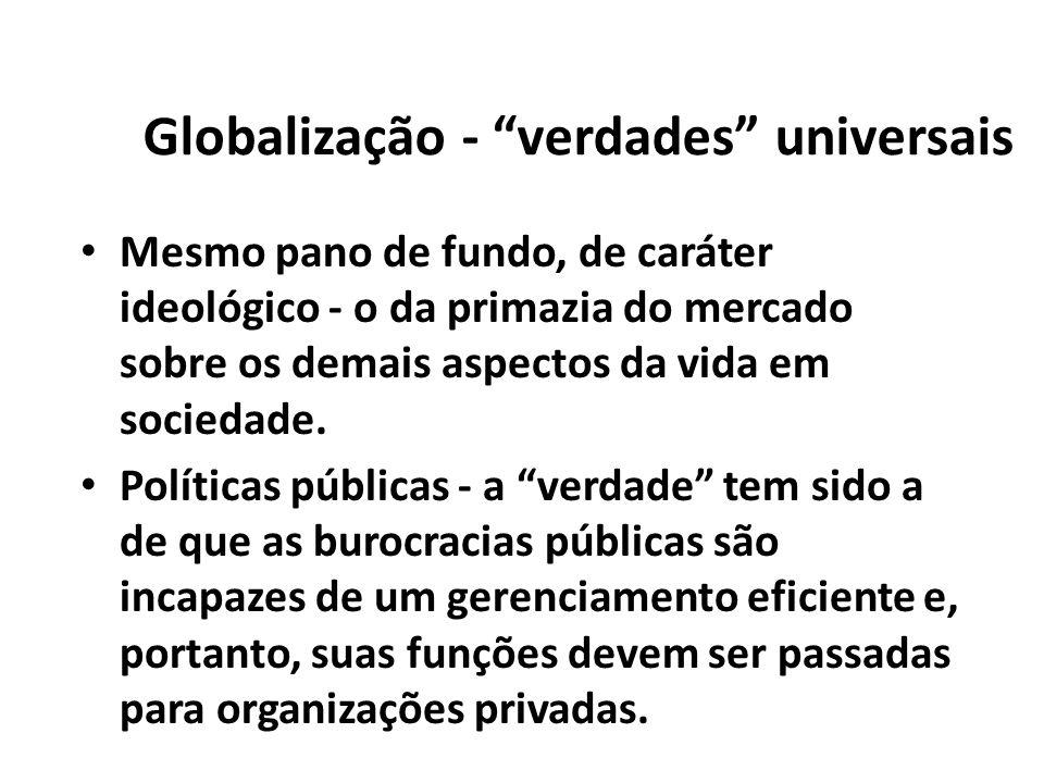 Globalização - verdades universais