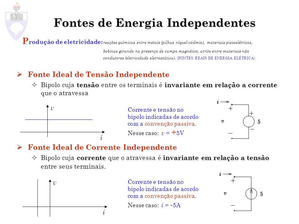 Fontes de Energia Independentes