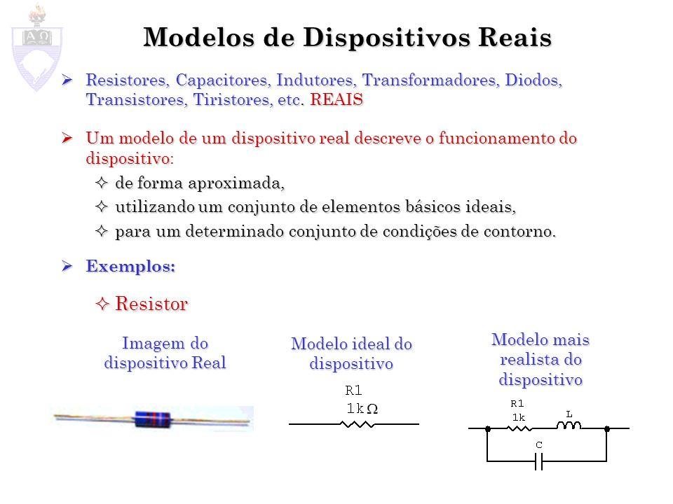 Modelos de Dispositivos Reais