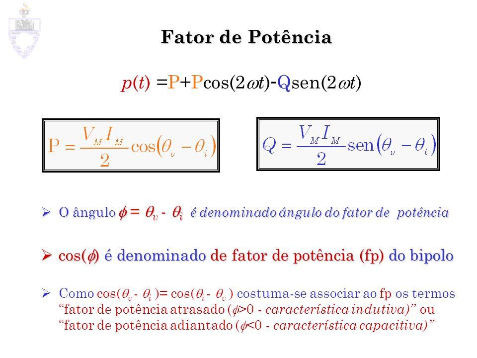 p(t) =P+Pcos(2t)-Qsen(2t)