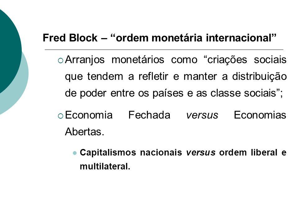 Fred Block – ordem monetária internacional