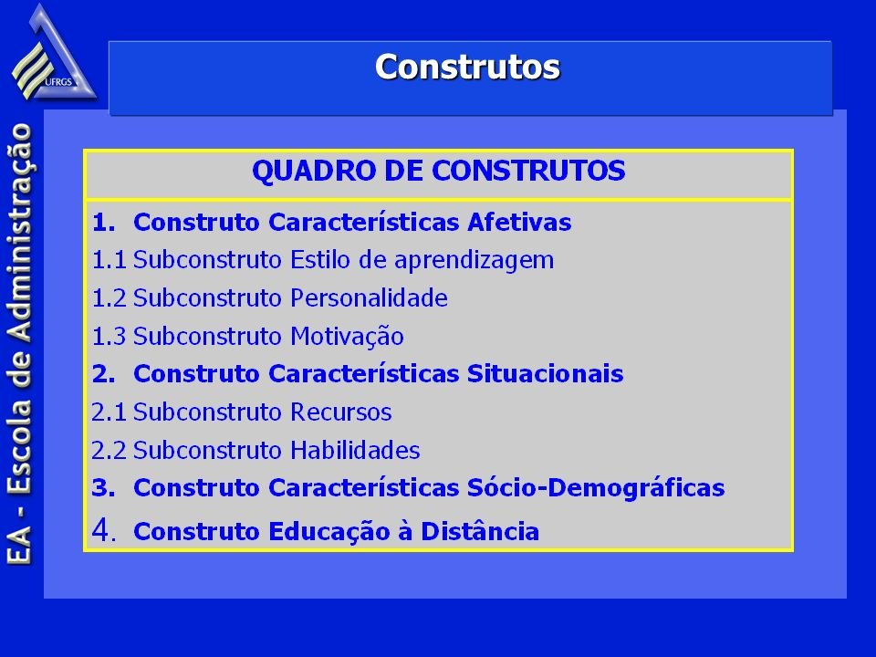 Construtos