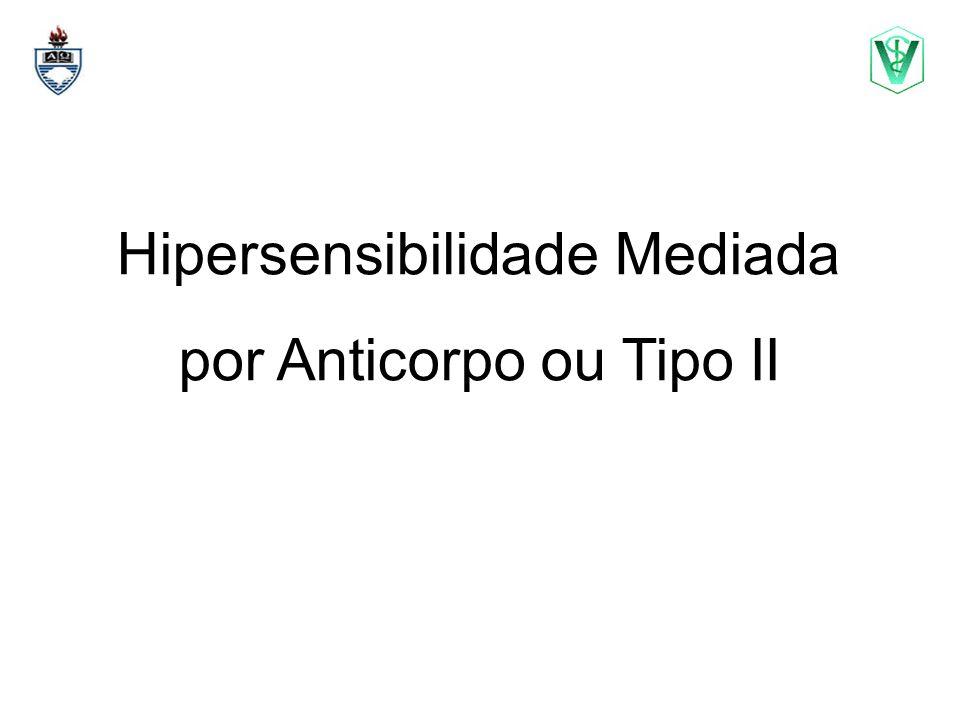 Hipersensibilidade Mediada por Anticorpo ou Tipo II