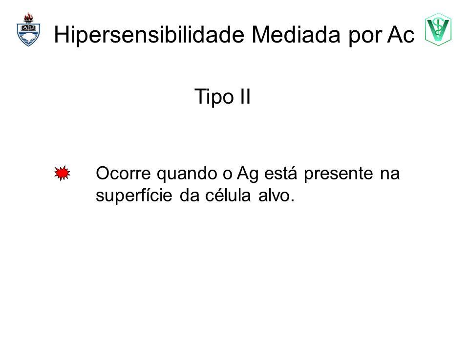 Hipersensibilidade Mediada por Ac